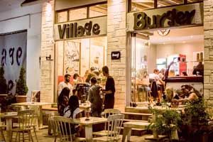 village burger afytos terrace 300x200