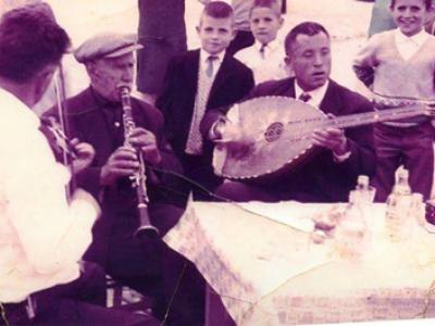 DIE MUSIKER MARINOS, ZAKAPAS, KATSAPANTERAS IN FOURKA (1950 - 1960)